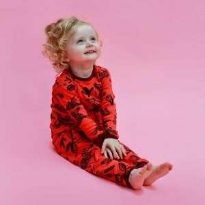 gender neutral PJs for babies from jammie doodles